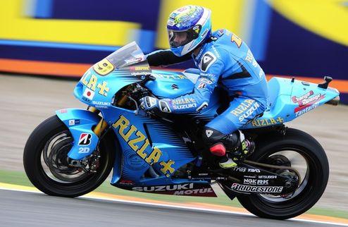 MotoGP. Гран-при Валенсии. Практика № 2. Баутиста празднует победу