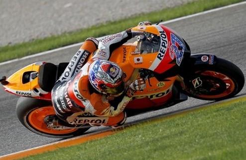 MotoGP. Гран-при Валенсии. Квалификация. Поул Стоунера, успех де Пюнье