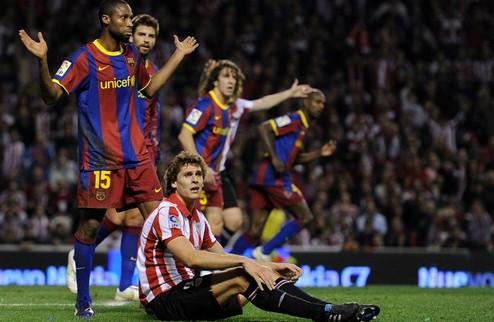 Атлетик — Барселона. Онлайн