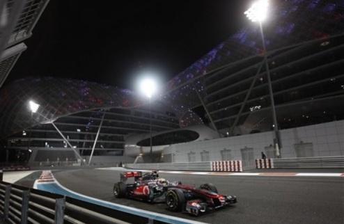 Гран-при Абу-Даби. Практика № 3. Хэмилтон вновь быстрейший