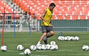 Педро приступил к тренировкам