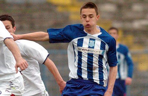 Динамо претендует на молодого серба