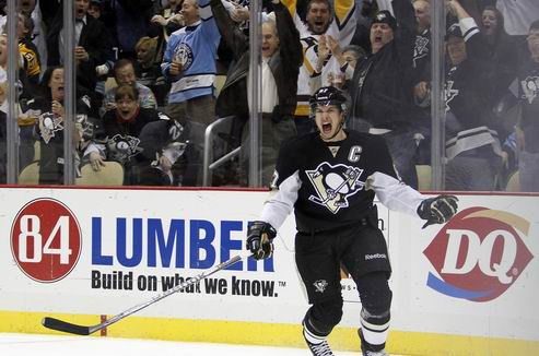 НХЛ. Кросби — первая звезда дня