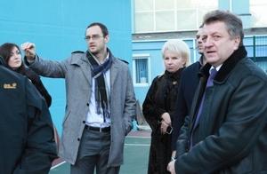 Комиссия ФИБА посетила Днепропетровск