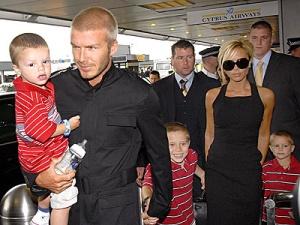 Бекхэм с семьей останется в CША