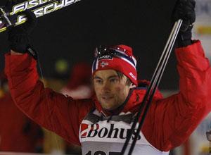 """Лыжные гонки. Нортуг: """"Хочу удержать такую форму весь сезон"""""""