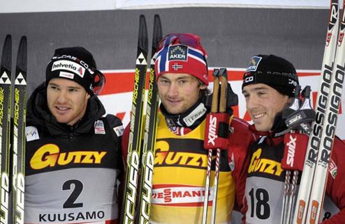 Лыжные гонки. И снова Петтер Нортуг