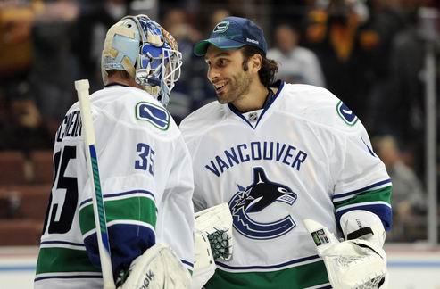 НХЛ. Ванкувер: Люонго — первый номер