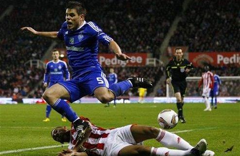 Динамо теряет очки в Англии