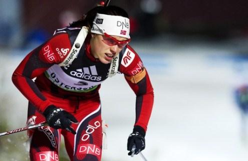 Биатлон. Женская победа Норвегии и провал Украины