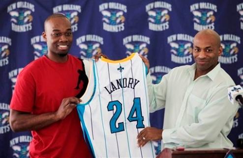 НБА. Лэндри остается в Новом Орлеане