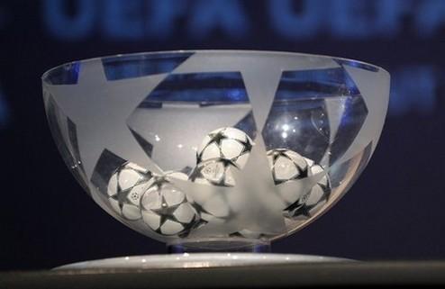 Жеребьевка Лиги чемпионов: кто — кому?