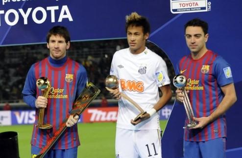 """Неймар: """"Барселона показала нам, как играть в футбол"""""""
