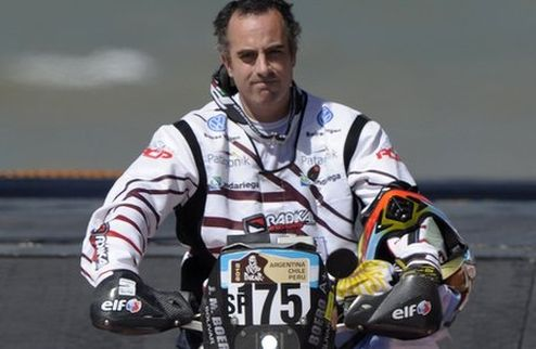 Аргентинский гонщик погиб на Дакаре-2012