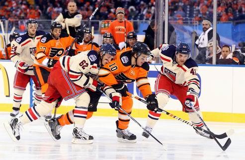 НХЛ Винтер Классик. Филадельфия — Нью-Йорк: камбэк и победа Рейнджеров