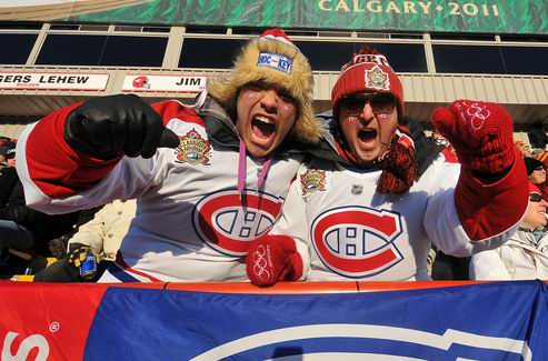 НХЛ. Деньги на билетах: Канада против США
