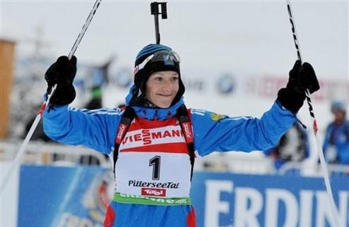 Биатлон. Россиянки побеждают в Оберхофе