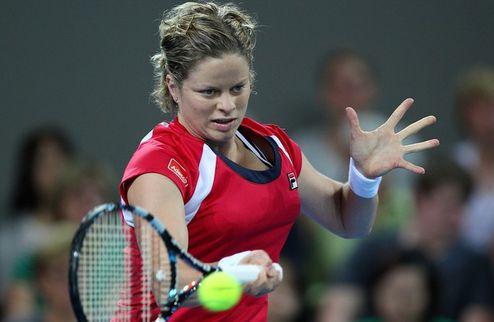 Брисбен (WTA). Клийстерс налегке вышла в полуфинал