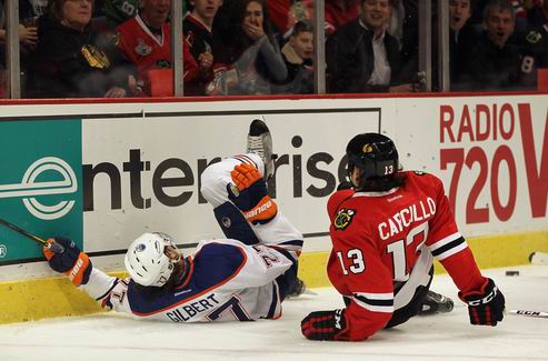 НХЛ. Форвард Чикаго дисквалифицирован на семь матчей