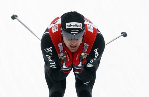 Тур де Ски. Колонья отрывается от Нортуга