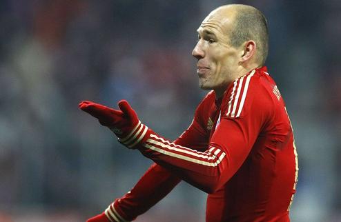 Роббен хочет продлить контракт с Баварией