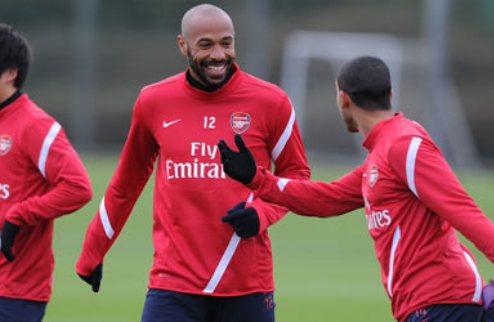 """Анри: """"Я не мог отказать Арсеналу"""""""