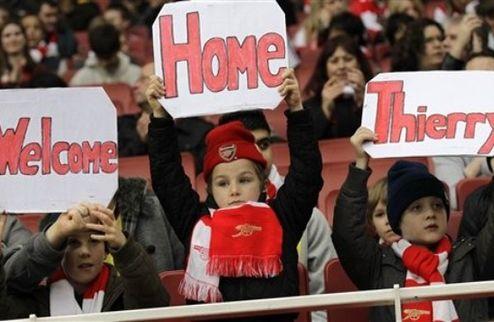Официально: Арсенал подписал Анри