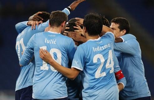Лацио выходит в четвертьфинал Кубка + ВИДЕО