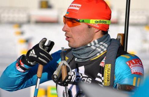 Биатлон. Сборная Украины — вторая в эстафете на Кубке IBU