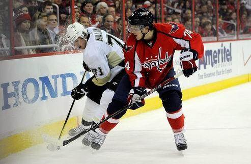 НХЛ. Вашингтон минимально обыграл Питтсбург, победа Нью-Джерси
