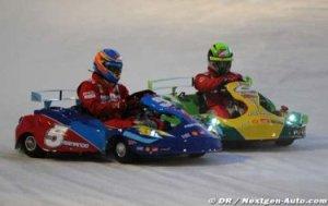 Росси опередил Массу и Алонсо на гонках Wroom
