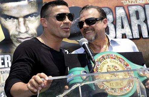 """Мартинес: """"Я больше не буду защищать """"бриллиантовый"""" пояс WBC"""""""