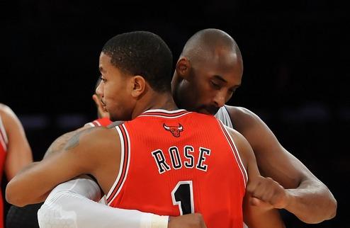 НБА. Роуз и Брайант — игроки недели