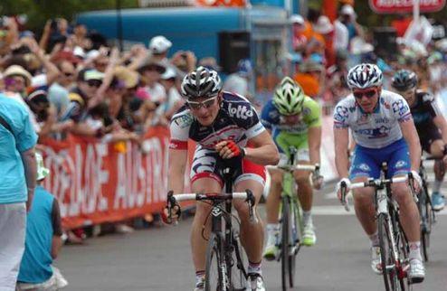 Велоспорт. Грайпель открывает Tour Down Under победой
