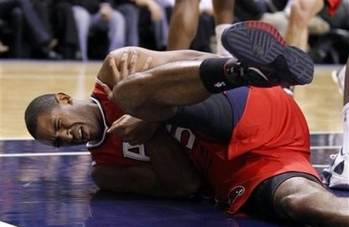 НБА. Центровой Атланты пропустит 3-4 месяца