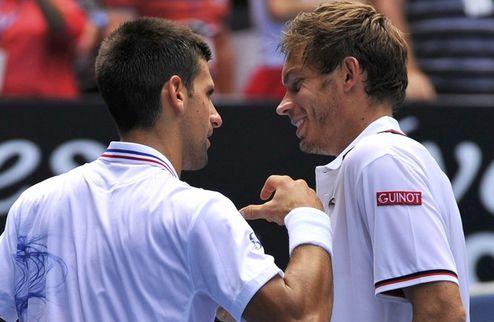 Australian Open. Джокович расправился с очередной жертвой