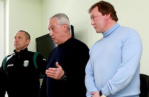 Владимир Шаран — главный тренер львовских Карпат
