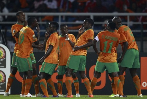 Кубок Африки. Замбия шокирует Сенегал + ВИДЕО