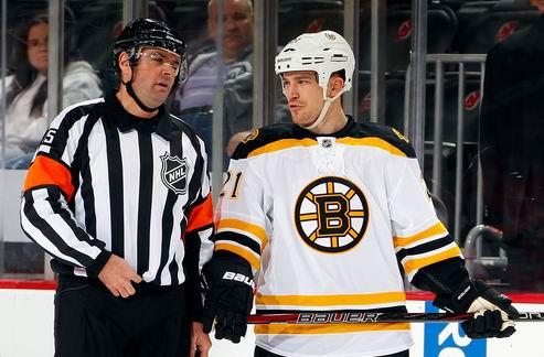 НХЛ. Защитник Бостона дисквалифицирован на три матча