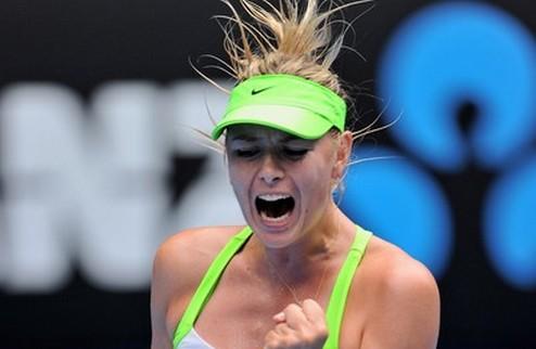 Australian Open. Шарапова — последняя четвертьфиналистка
