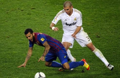 """Пепе: """"Мы были намного лучше Барселоны"""""""