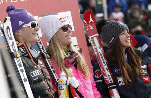 Горные лыжи. Еще одна победа Вонн
