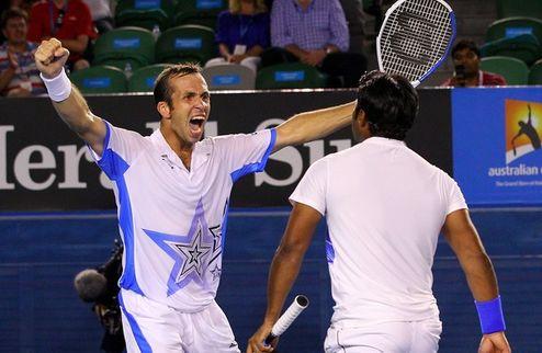 Australian Open. Паес и Штепанек отобрали чемпионство у братьев Брайанов