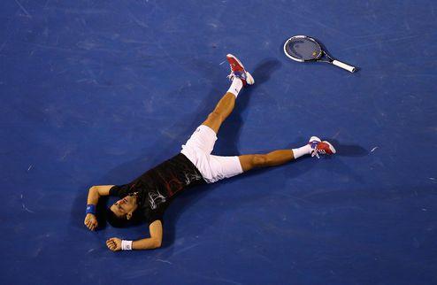 Australian Open. Джокович в седьмой раз подряд обставил Надаля