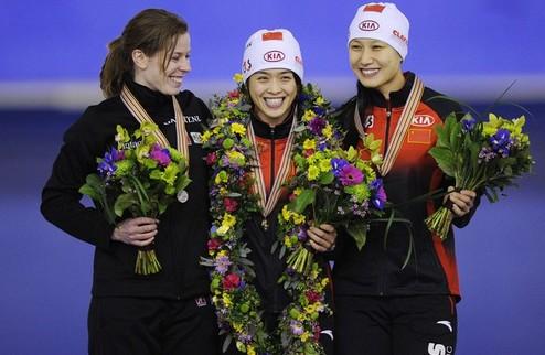 Конькобежный спорт. Еще два мировых рекорда
