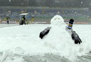 Снег помешал сыграть Парме и Ювентусу