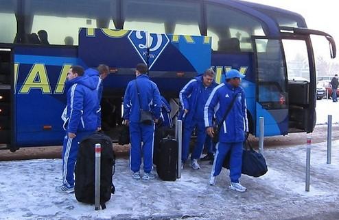 Динамо скроется от морозов в Испании