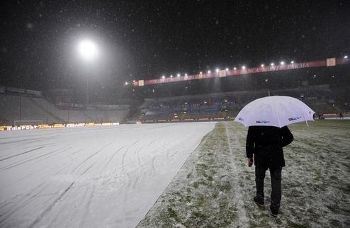 Из-за снегопада в Серии А отменили два матча
