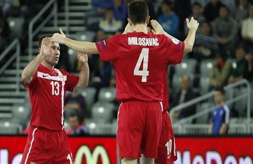 Футзал. Евро 2012. Сербия в супер-матче побеждает Азербайджан