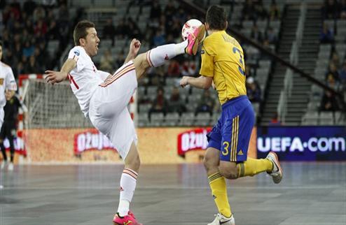 Футзал. Евро 2012. Испания нокаутирует Украину